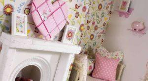 Dekoracje pokoju dla dziewczynki