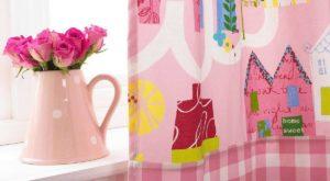 Zasłony do pokoju dla dziewczynki, tkaniny dekoracyjne do pokoju dziewczęcego