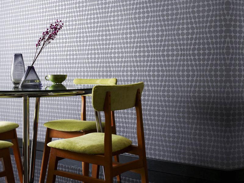 Tapeta na ścianę we wzory geometryczne
